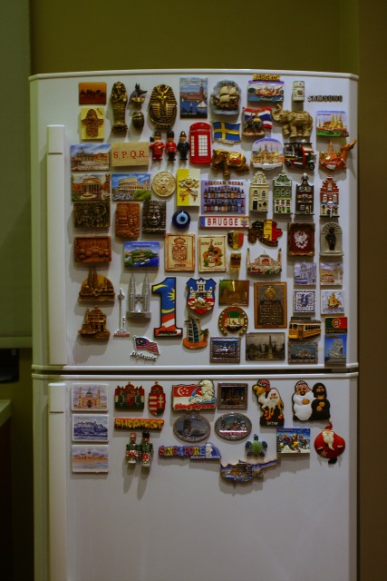 refrigirator magnets journeys
