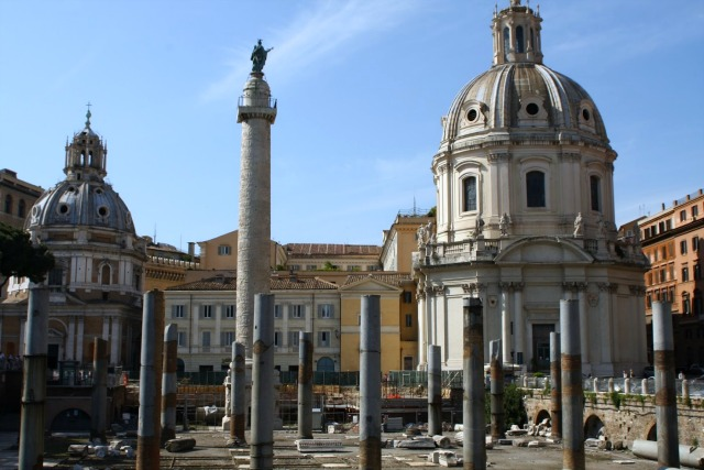 Trajans forum, Trajan's column