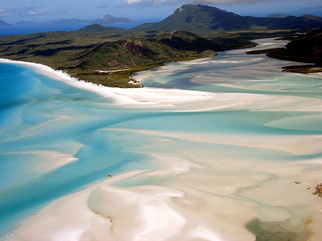 Whitehaven Βeach, Whitsunday Islands