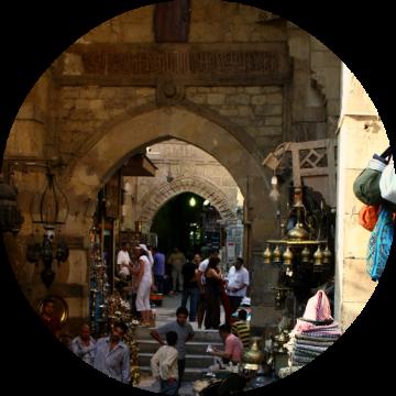 Khan el khalil open market