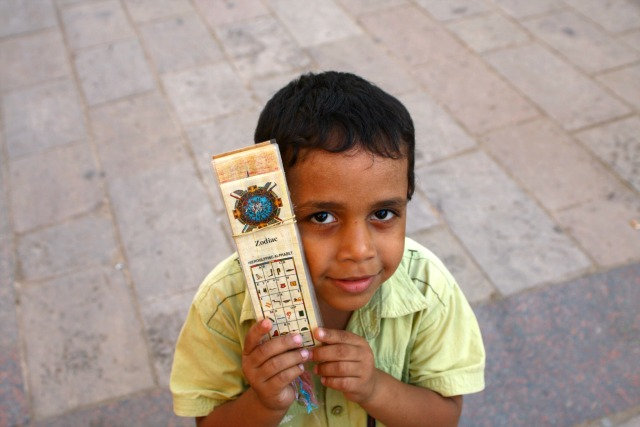 Little child in Aswan